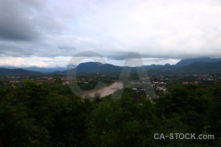 Nam khan laos river luang prabang water.
