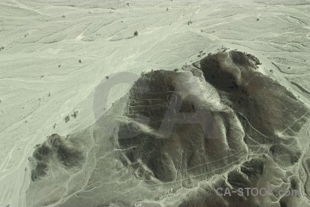 Nazca lines aerial astronaut south america flying.