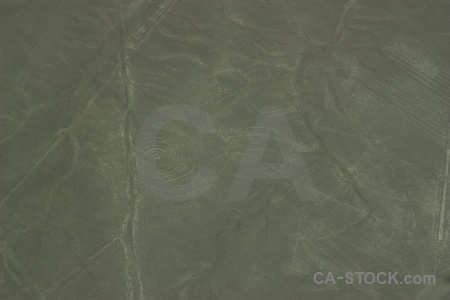 Nazca lines peru flying geoglyph animal.