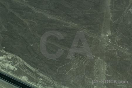 Nazca peru nazca lines geoglyph hands.