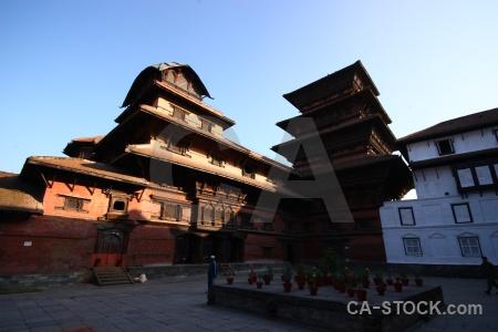 Nepal kathmandu unesco wood hanuman.