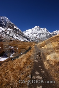 Nepal landscape annapurna south asia valley.
