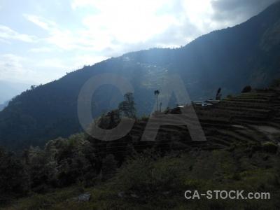 Nepal modi khola valley asia himalayan trek.