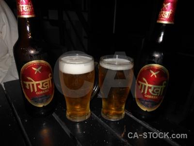 Nepal thamel kathmandu drink table.