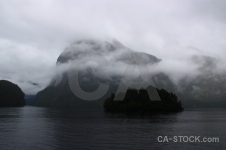 New zealand fiord south island fiordland doubtful sound.