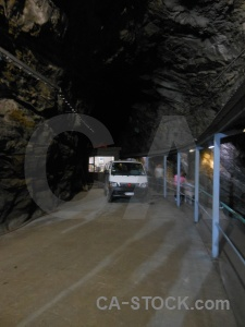 New zealand fiordland vehicle underground bus.