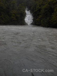 New zealand haast river south island water waterfall.