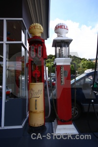 New zealand sky gas pump akaroa cloud.