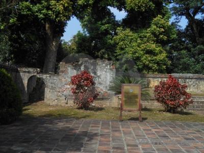Nguyen dynasty tomb sky minh mang hue.