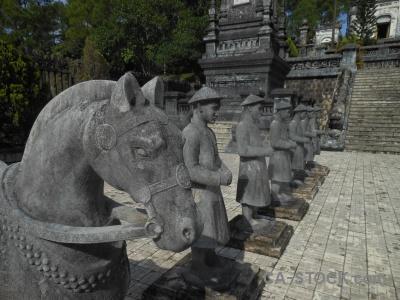 Nguyen emperor dynasty vietnam horse khai dinh.