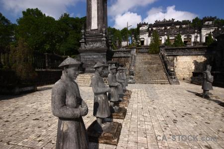 Nguyen emperor tomb hue khai dinh southeast asia.