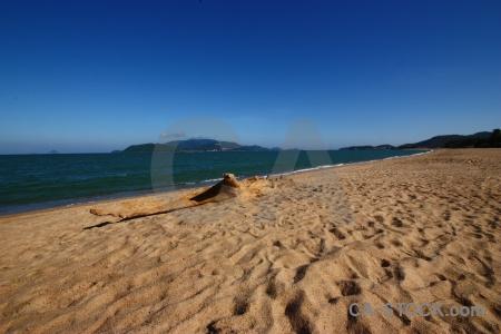 Nha trang beach sand southeast asia vietnam.
