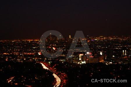 Night black cityscape.