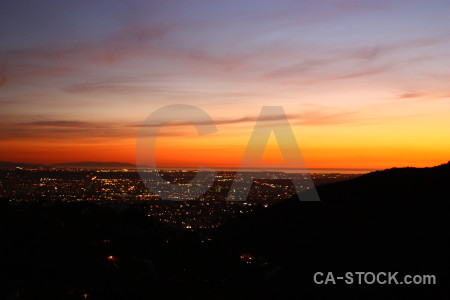 Night cityscape sunset sunrise building.