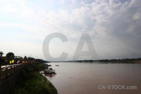 Nong khai cloud river sky water.