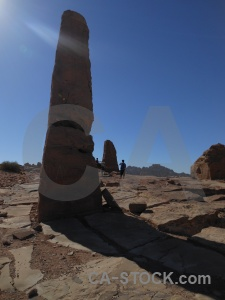 Obelisk middle east nabataeans historic petra.
