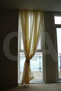 Object curtain cloth.