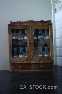 Object glass bottle cabinet spice.