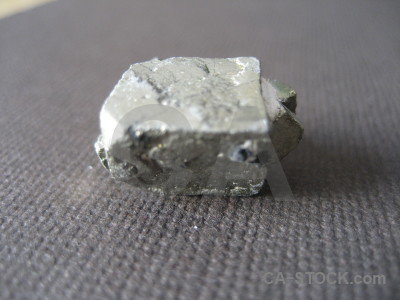 Object polished gray stone.