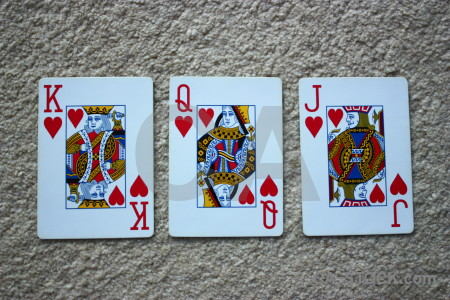 Object red playing card.