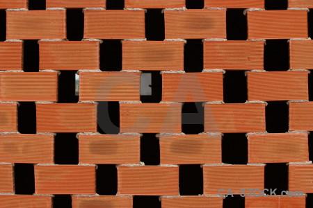 Orange brick texture.