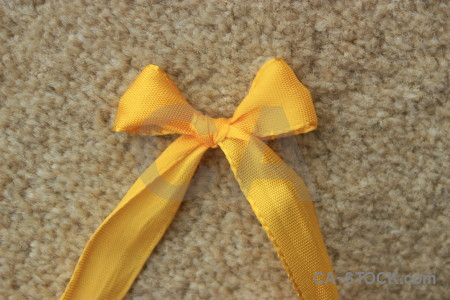 Orange brown ribbon object yellow.