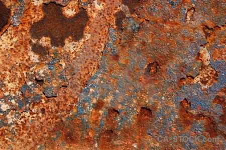 Orange brown rust texture red.