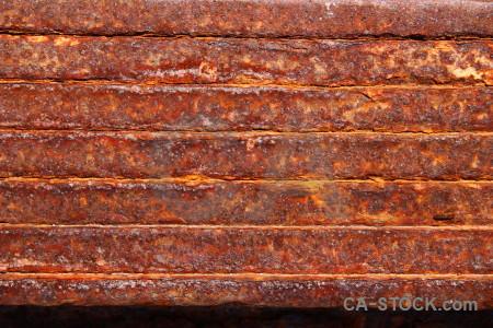 Orange red texture rust.