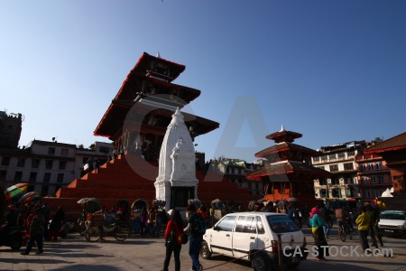 Pagoda building south asia durbar square kathmandu.