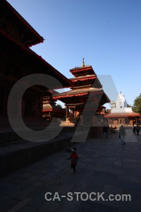 Pagoda temple nepal south asia sky.