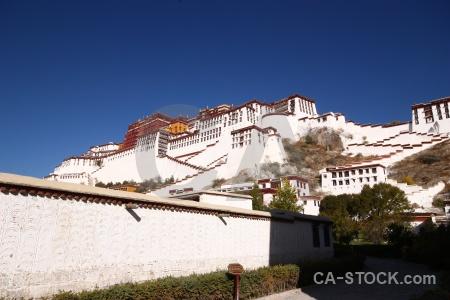 Palace asia lhasa east sky.