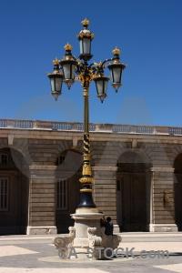 Palace spain lamp europe royal.