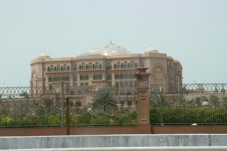 Palace western asia abu dhabi middle east uae.