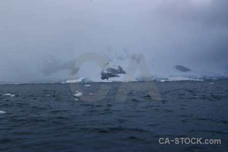 Paradise harbour sea water antarctica day 9.