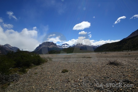 Patagonia cloud argentina landscape snowcap.