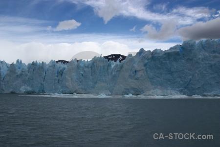 Patagonia cloud sky ice perito moreno.