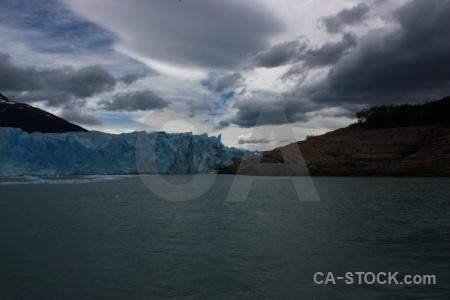 Patagonia glacier south america sky lago argentino.