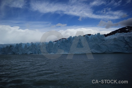 Patagonia ice lago argentino cloud lake.