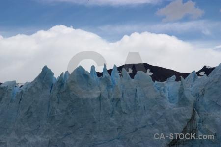 Patagonia ice sky mountain south america.