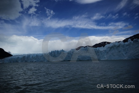 Patagonia lago argentino south america ice cloud.