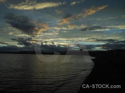 Patagonia punta arenas cloud south america water.