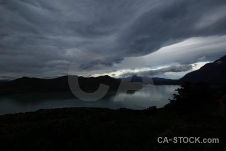 Patagonia sky circuit trek lago nordenskjold landscape.