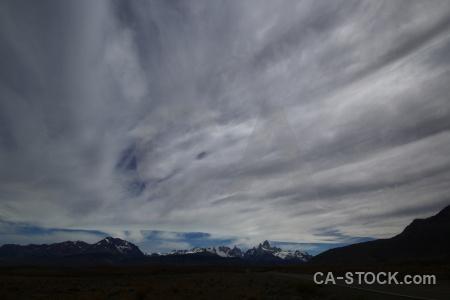 Patagonia snow sky cerro torre cloud.