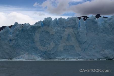 Patagonia south america lake sky cloud.