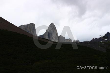 Patagonia trek sky rock circuit.