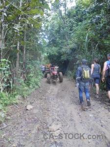 Path laos asia trek person.