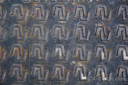 Pattern europe spain javea metal.
