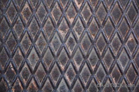 Pattern spain europe javea metal.