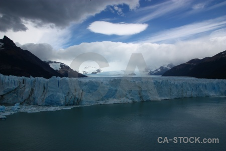 Perito moreno lake argentino ice glacier south america.