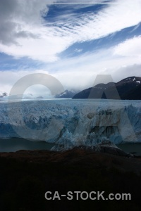 Perito moreno mountain patagonia lake water.